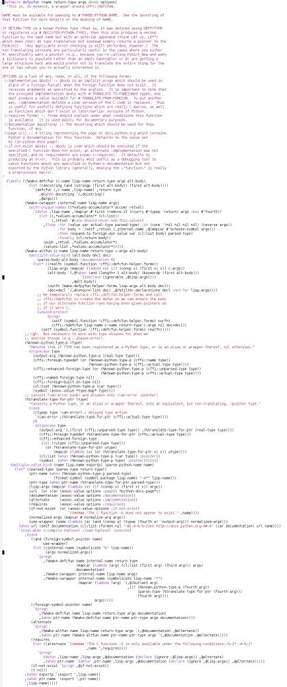 Burgled-Batteries: A Python-Lisp Bridge